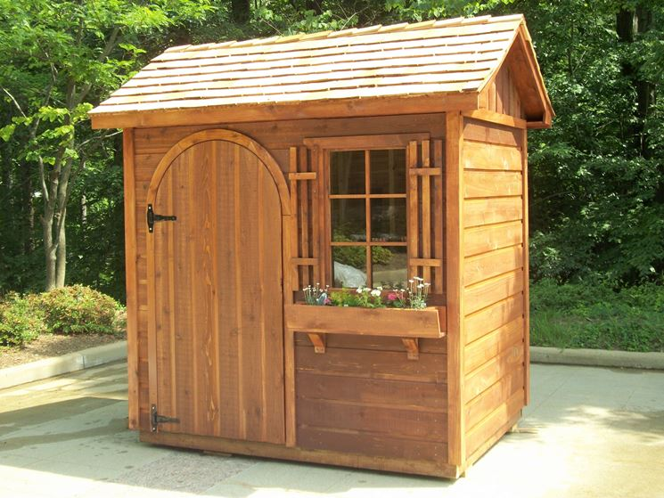 Bella casetta di legno