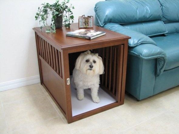 Costruire una cuccia per cani casette di legno - Cuccia per cani interno ...