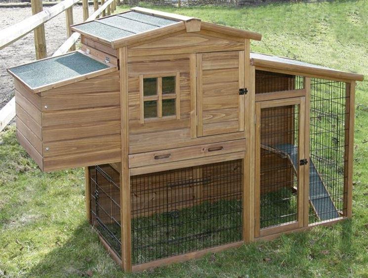 pollaio fai da te casette di legno costruire pollaio