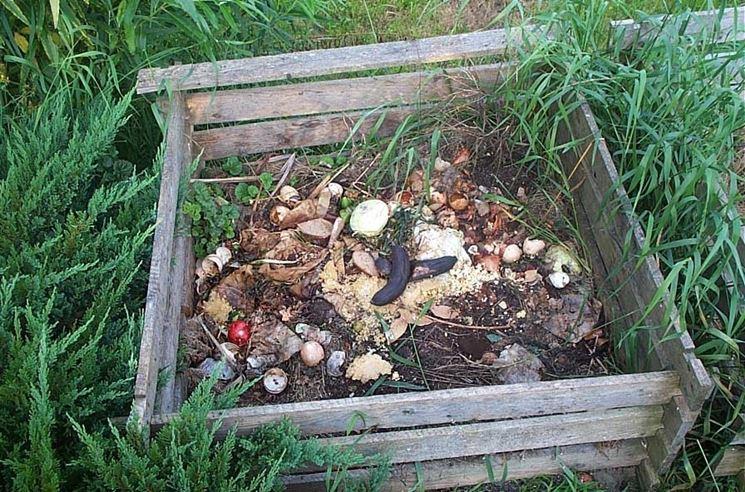 Esempio di composter all'aperto