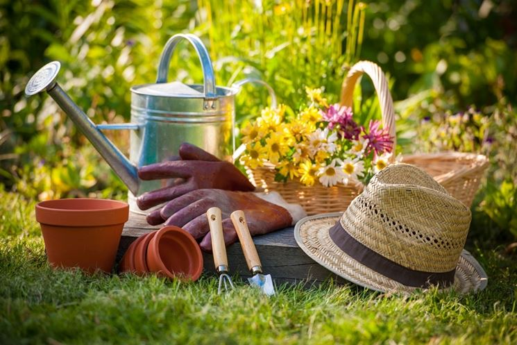 Attrezzi giardiniere