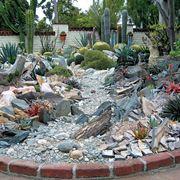 Esempio di giardino roccioso
