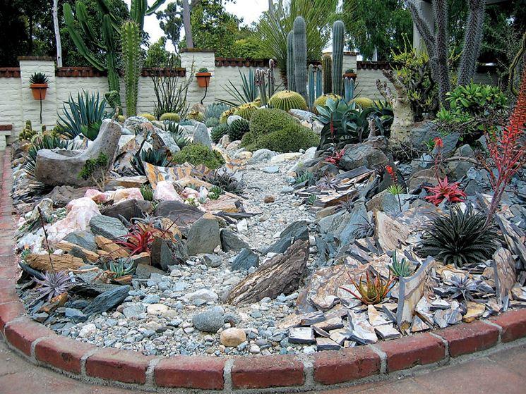 Giardini rocciosi fai da te giardino come realizzare for Giardino roccioso con piante grasse