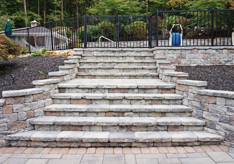 Realizzare scalini in giardino 20 soluzioni da vedere giardini for Soluzioni giardino