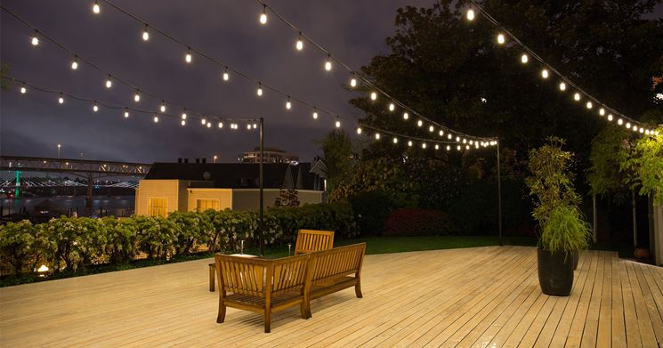 Illuminazione esterna giardino lampade da esterno luci giardino