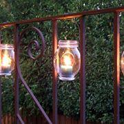 Lanterne in giardino