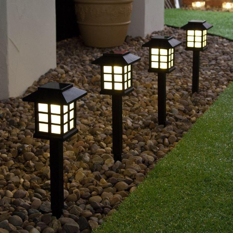Lampade solari da giardino - Lampade da esterno