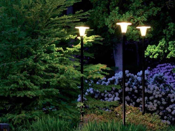 Lampioni da giardino - Lampade da esterno - Scegliere l'illuminazione da giardino