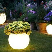 luci da giardino come elementi di arredo