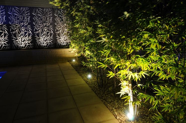 Luci da giardino lampade da esterno illuminazione giardino