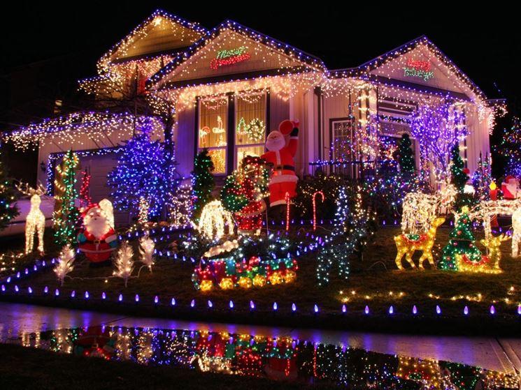 Illuminazione natalizie per esterni illuminazione per esterno