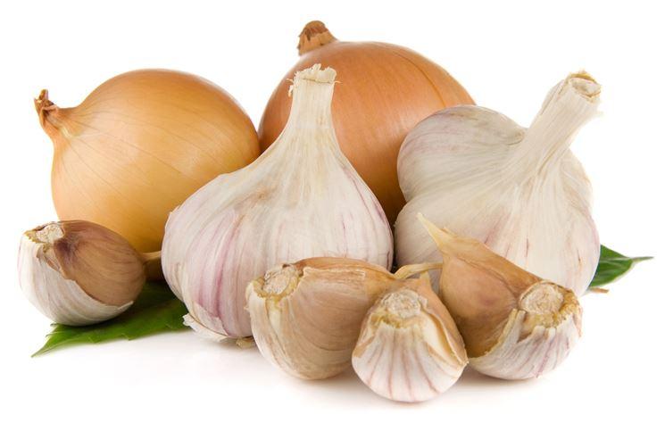 Cipolle e teste d'aglio