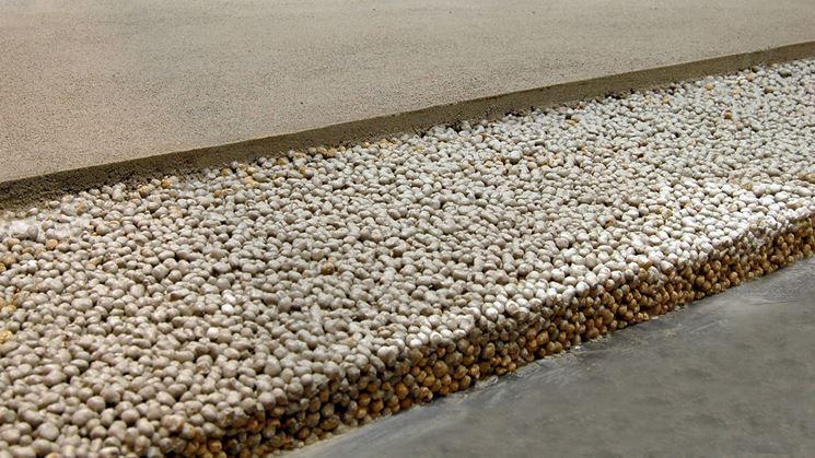 Pavimentazione isolata argilla