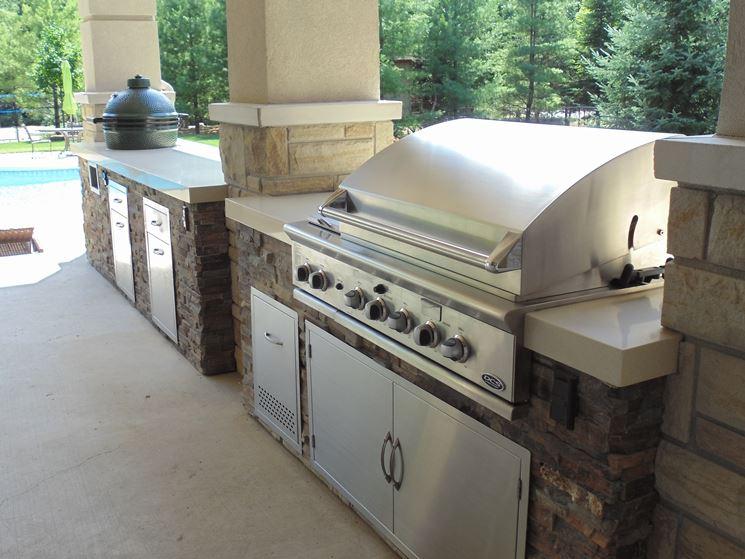Barbecue a gas da giardino
