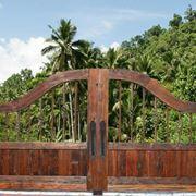 Cancello in legno vintage