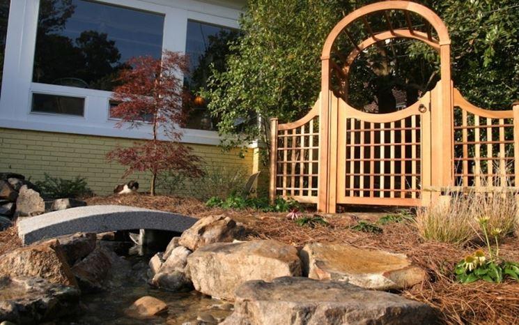 Cancelli in legno fai da te mobili da giardino come for Cancelli da giardino