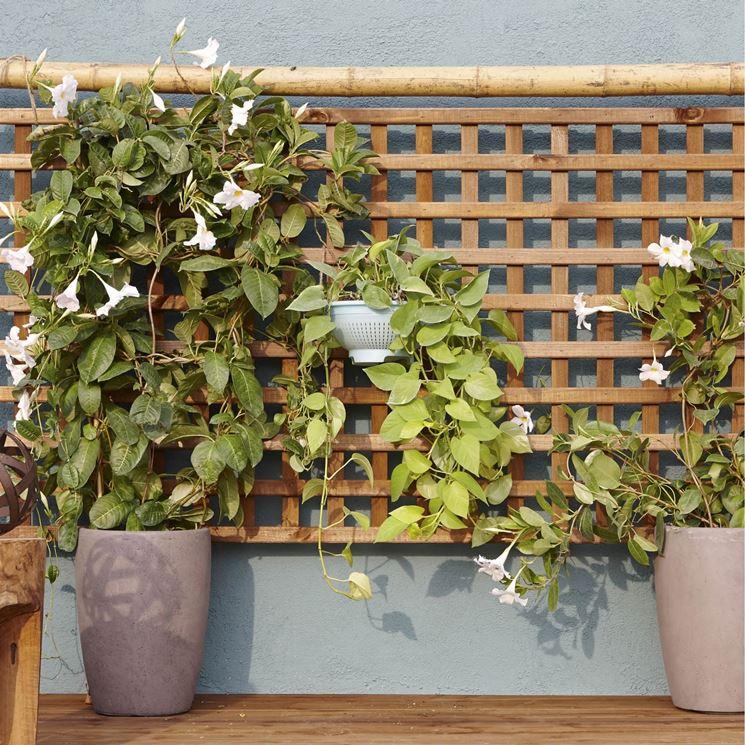 Grigliati per terrazzi - Mobili da giardino - Paravento balcone
