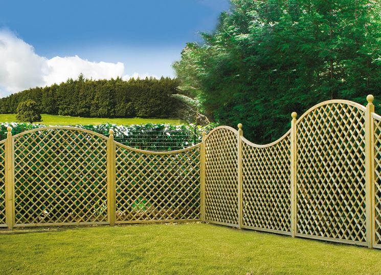 Griglie legno giardino mobili da giardino griglie in for Divisori da giardino