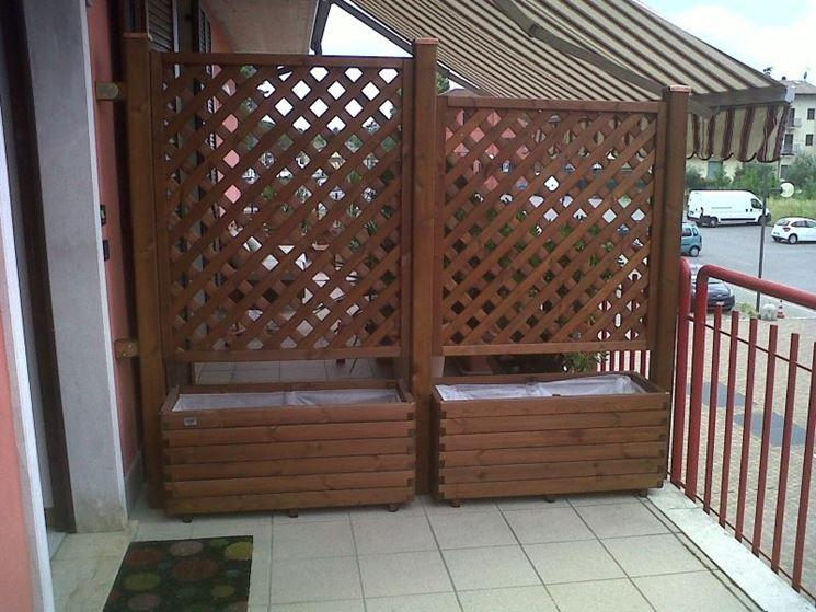Moda pareti divisorie per giardino bp04 pineglen for Divisori da giardino