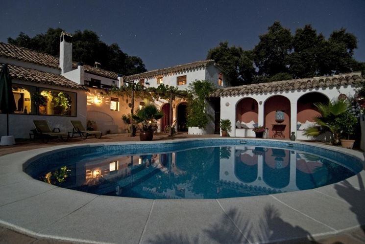 Villa con piccola piscina