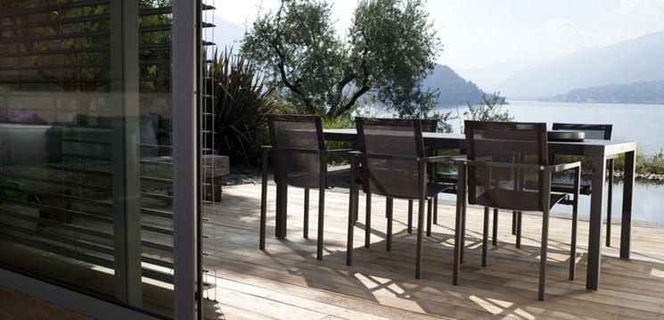 sedie da giardino batyline