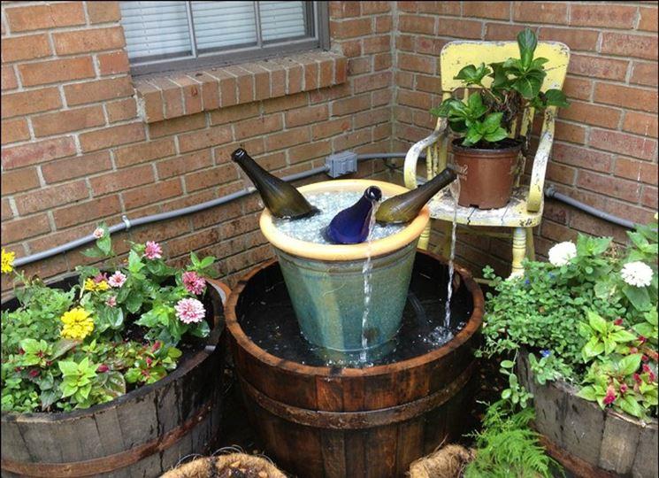 Modelli di fontane da giardino fai da te mobili da giardino - Fontana da giardino fai da te ...