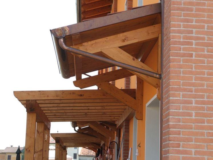 Pensiline in legno fai da te mobili da giardino - Costruire mobili in legno fai da te ...