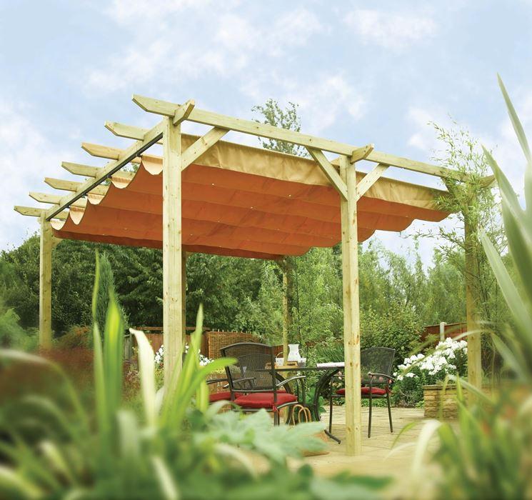 Pergola mobili da giardino pergole per giardino - Pergolati da giardino ...