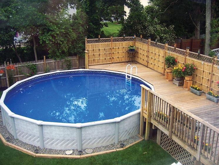 Piscine fuori terra mobili da giardino modelli e consigli per scegliere piscine fuori terra - Piscine per giardino ...