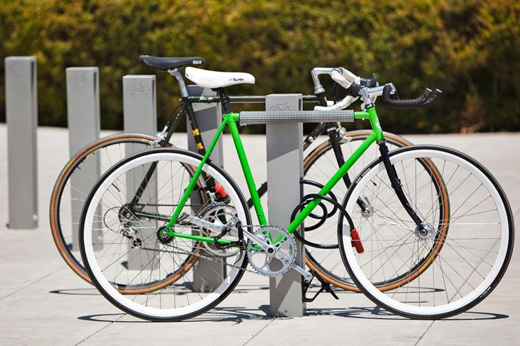 Esempio di rastrelliera per bici