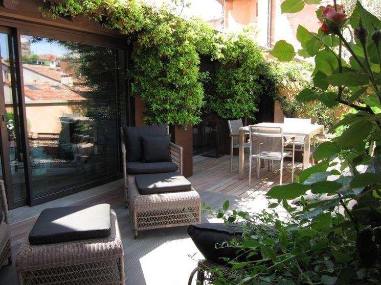Terrazze e giardini mobili da giardino piante per for Giardini sui terrazzi