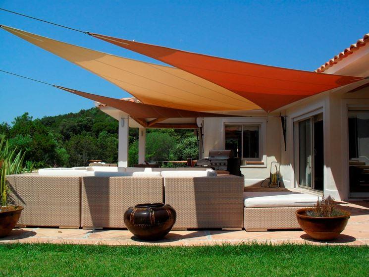 Vele ombreggianti - Mobili da giardino - Tende esterno