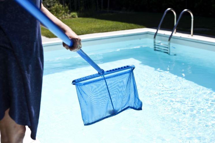 Retino per pulizia piscina