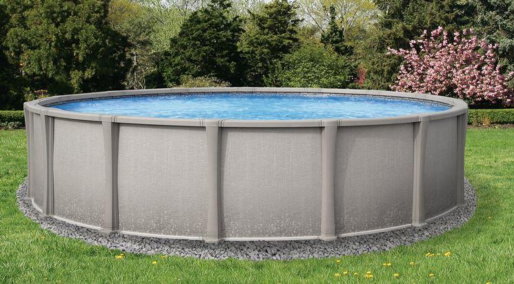 piscina non interrata