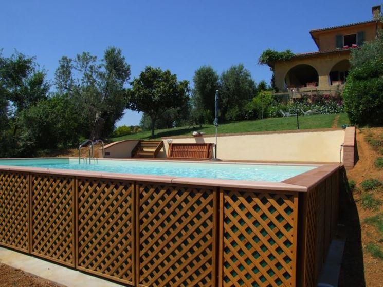 Piscine da giardino piscine fuori terra tipi di - Terra da giardino ...