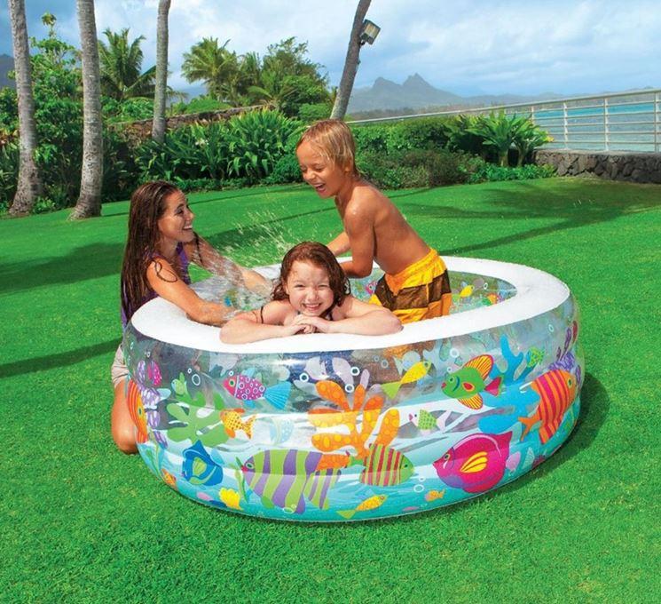 Piscine gonfiabili piscine fuori terra for Piscine gonfiabili per bambini