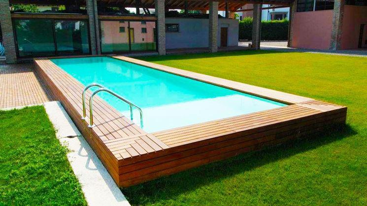 Piscine seminterrate piscine fuori terra piscine seminterrate caratteristiche - Piscina seminterrata prezzi ...
