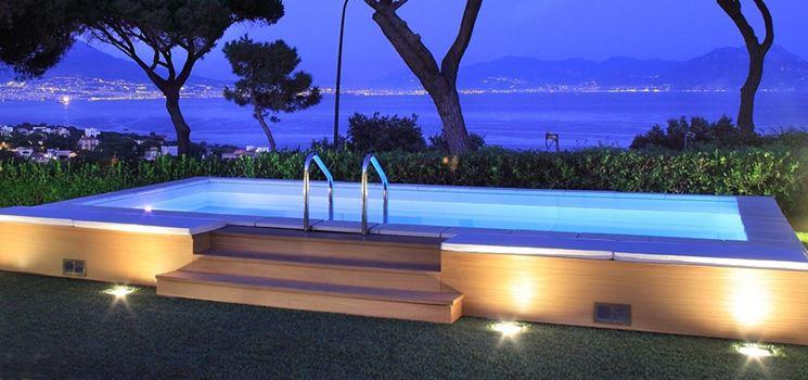 Piscine seminterrate piscine fuori terra piscine for Piscine seminterrate