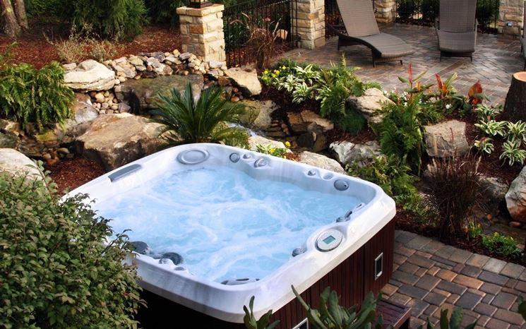 vasche da esterno idromassaggio