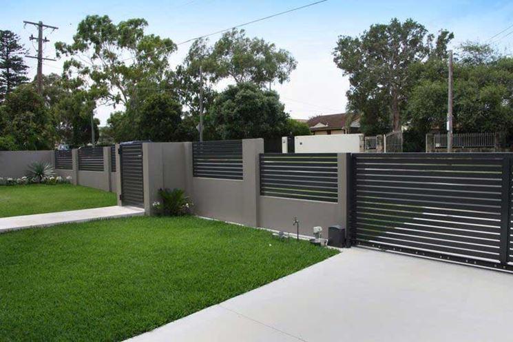 Recinzioni modulari recinzioni giardino - Recinzioni in metallo per giardino ...