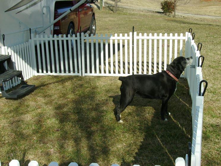 Esempio di recinzione da giardino