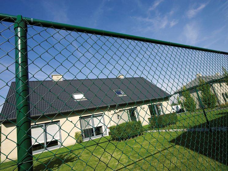 Rete per recinzione recinzioni giardino tipologie di for Recinzione giardino fai da te