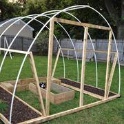 Struttura serra giardino