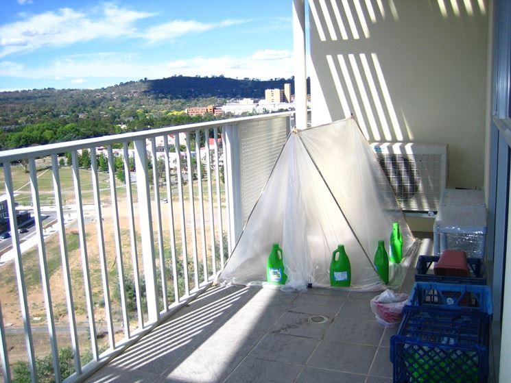 Serre balcone ortaggi
