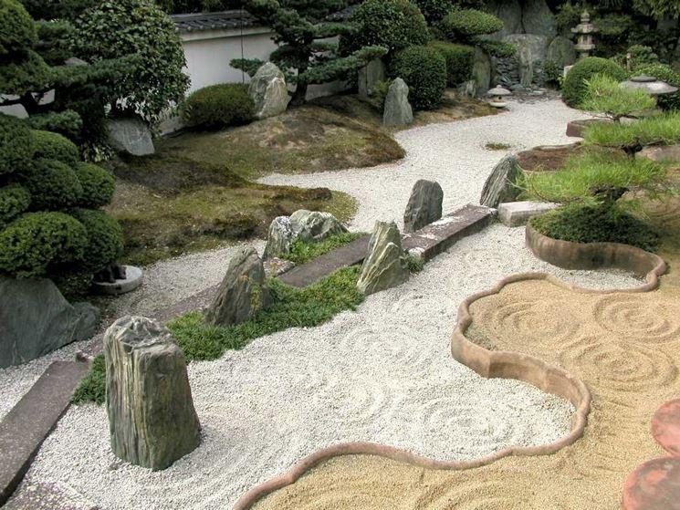 Giardino zen classico