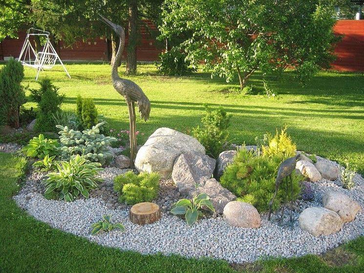 Giardino roccioso - Stili di giardini