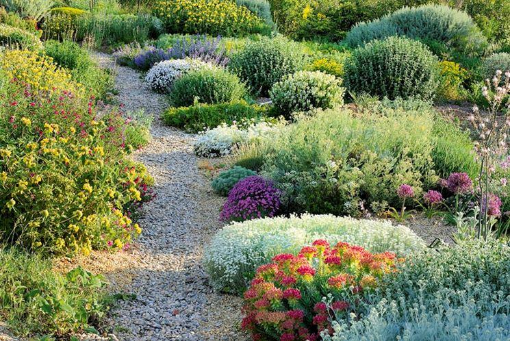 Esempio di giardino secco