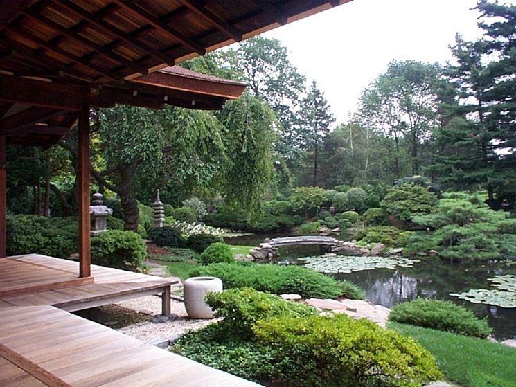 Stile giardino giapponese