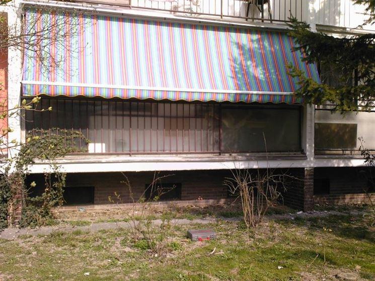 Esempio di tende da sole per balconi