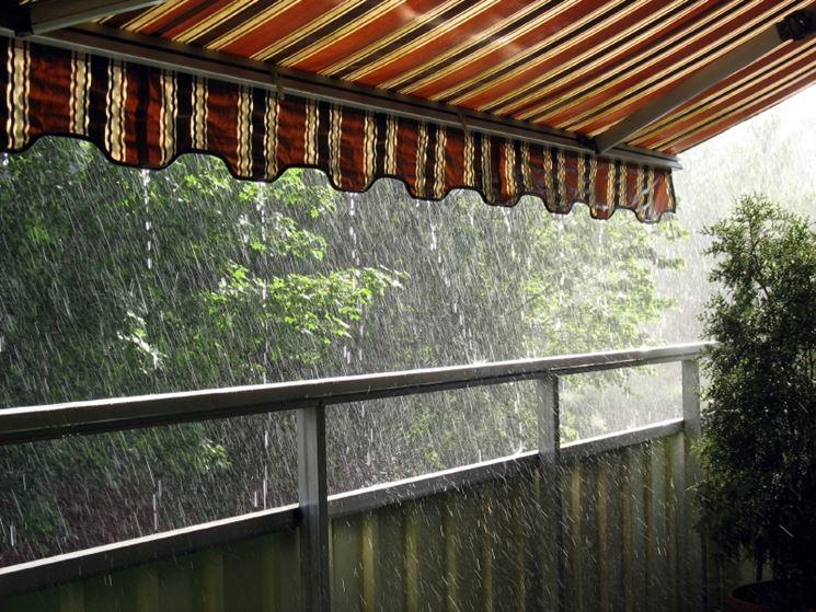 Le tende da sole balcone - Tende sole esterno - Tenda balcone